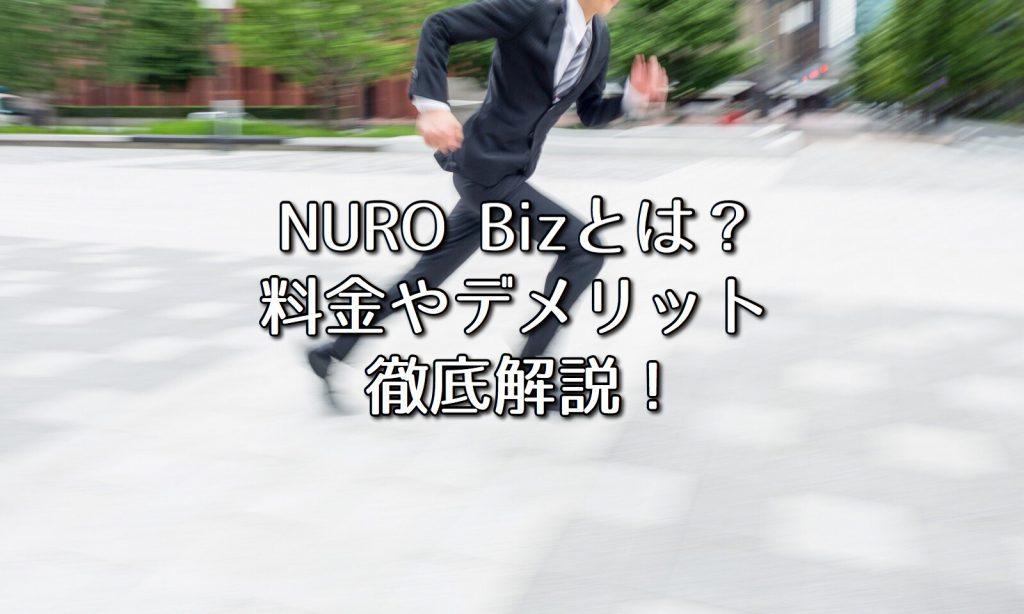 NURO光の法人向けNURO Bizとは?