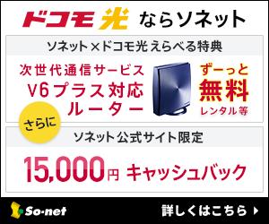 ドコモ光×So-net