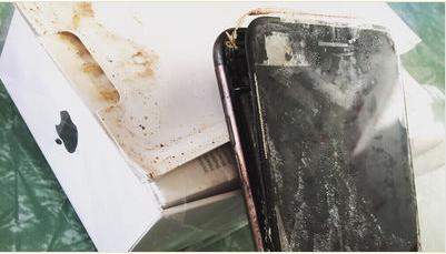 iPhone7から出火!爆発報告などもあるのね。対策はないのか?