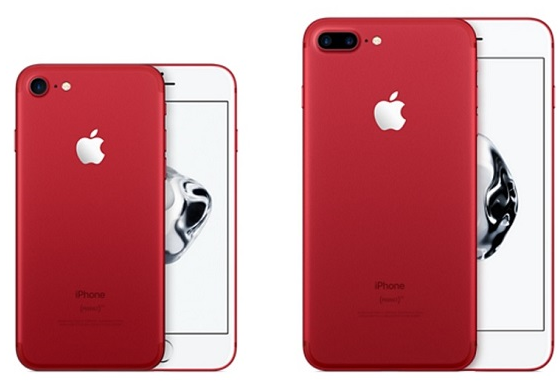iPhone7(アイフォン7)plus7の新色、赤(Product Redプロダクトレッド)ドコモ、au、ソフトバンクの価格と在庫と予約について