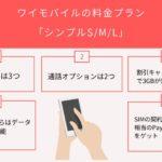 【2021年最新版】ワイモバイルの料金プラン「シンプルS/M/L」を徹底解説!